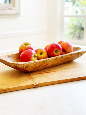 Wood Dough Bowl