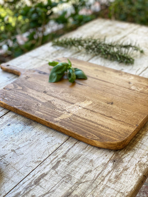 Old European Bread Board Large Rectangle