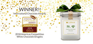 Gold Award Winning Matcha Chocolate Almonds