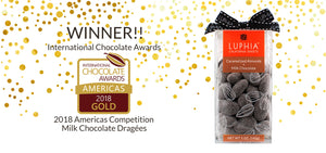 Gold Award Winning Caramelized Almonds + Milk Chocolate
