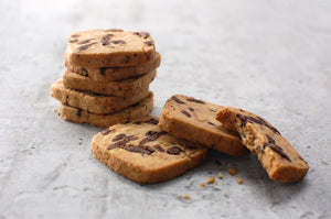 Chocolate Chip Walnut Icebox Cookies