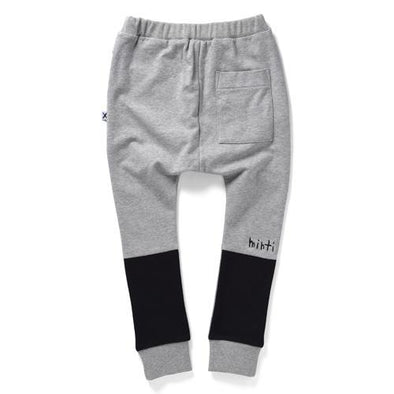 Minti Contrast Trackies Grey Marle #