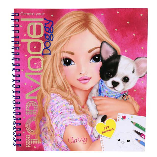 Top Model Create Your Doggy Colouring Activity Book