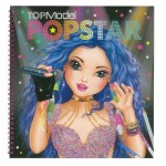 Top Model Pop Star Colouring Activity Book