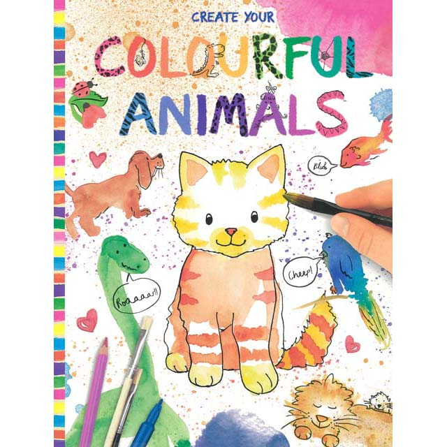 Creative Studio Create Your Own Colourful Animals