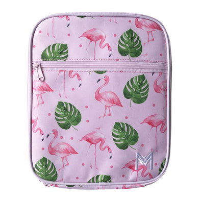 MontiiCo Insulated Lunchbag - Flamingo