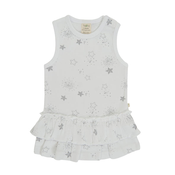 Tiny Twig Singlet Dress Little Stars
