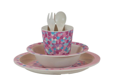 Bobble Art Bamboo Tableware Confetti