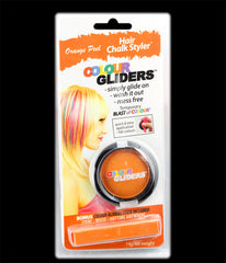 Colour Gliders Hair Chalk Glider/Stick Orange