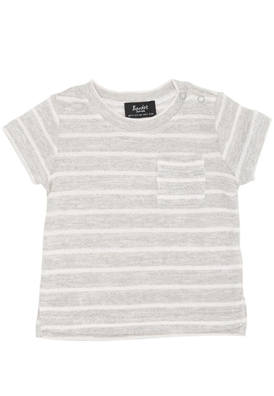 Bardot Junior Pocket Tee Grey Marle ^