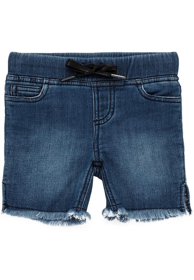 Bardot Junior Shorts Knit Floyd Mid Blue ^