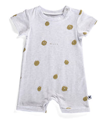 Minti Baby Brooklyn Suit Happy Dots White Marle