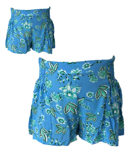 Mii Love Mu Shirring Shorts Bloom +