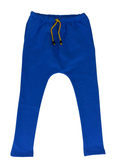 A Little Pocket Harem Pants Lazy Cobalt *