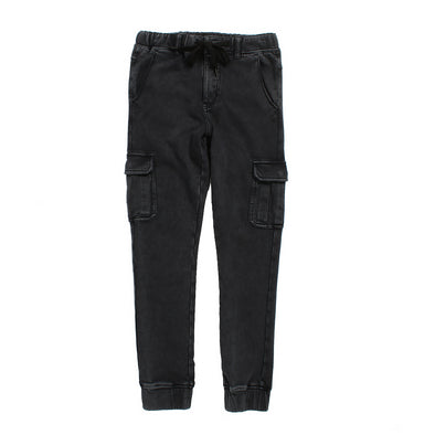 Alphabet Soup Rebel Cargo Pant Acid Black ^