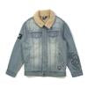 Alphabet Soup Jacket Check It Denim Blue *