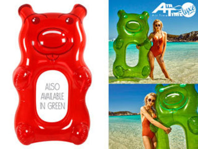 Air Time Luxe Giant Gummy Bear Pool Float
