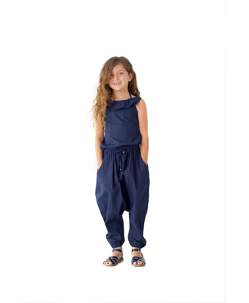 Alex & Ant Jumpsuit Halter Navy #
