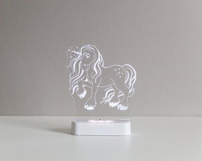 Aloka LED Sleepy Light - Unicorn - Dual Powered