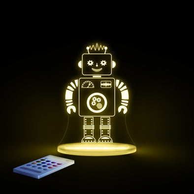 Aloka LED Sleepy Light - Robot - Dual Powered