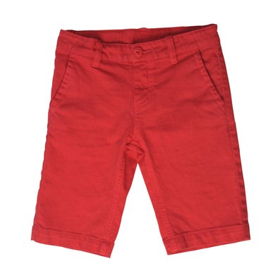 Paper Wings Slim Fit Shorts Red #