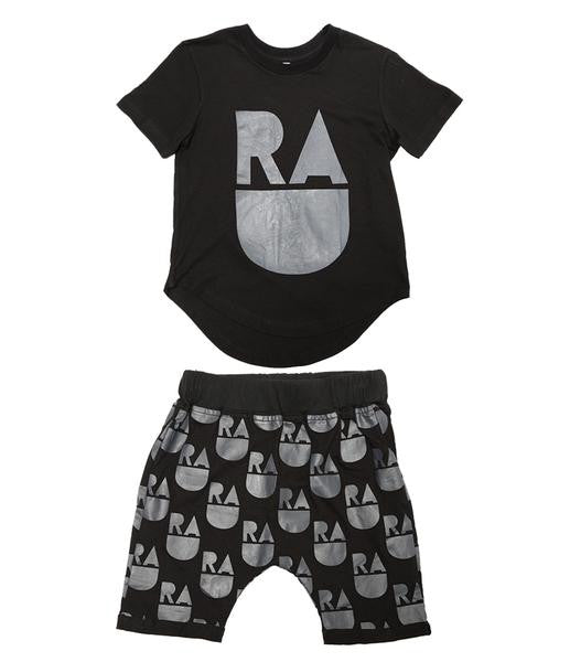 Band of Boys PJ Set Rad Black *