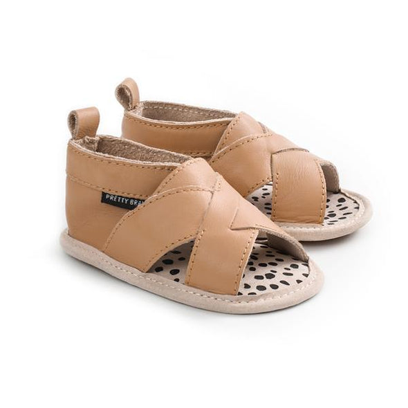 Pretty Brave Cross-Over Sandal Tan