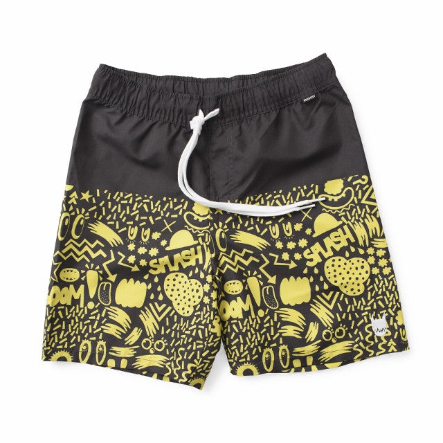 Munster Board Shorts Dip Black #