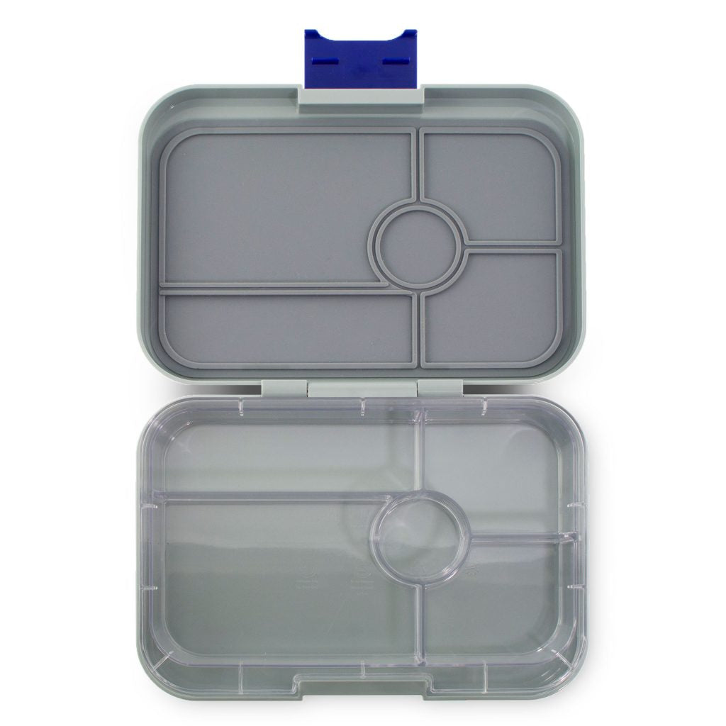 Yumbox Tapas 5 Compartment Flat Iron Grey
