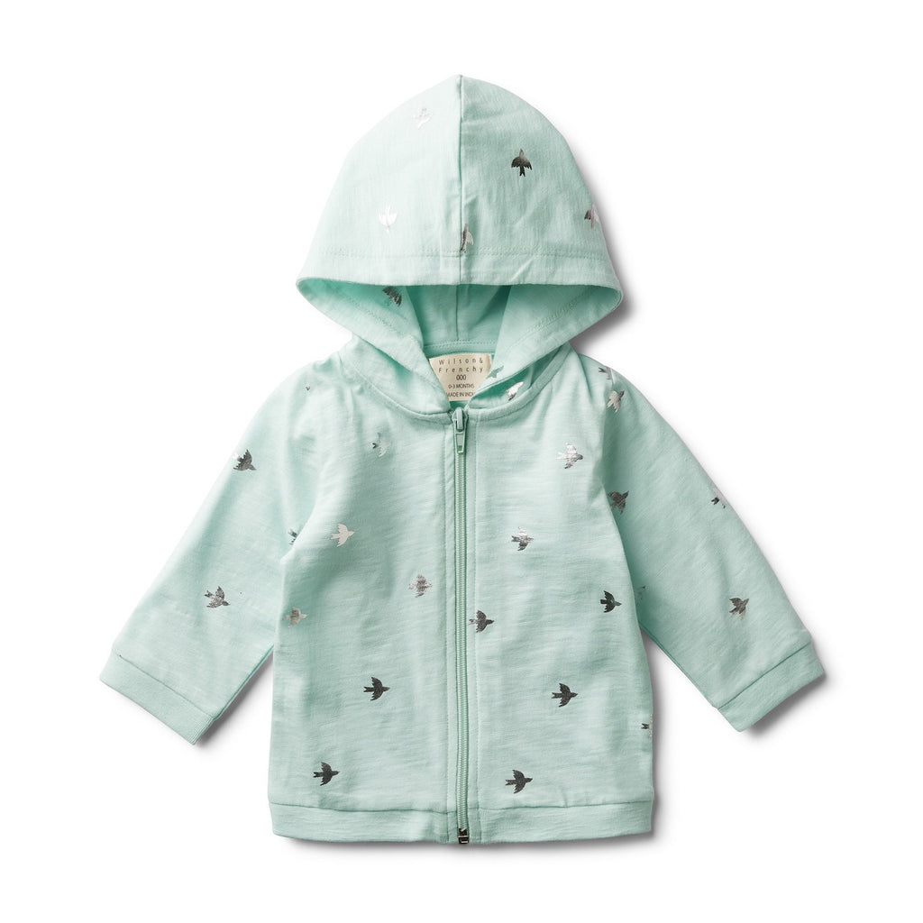 Wilson & Frenchy Hooded Jacket Fly Away Mint
