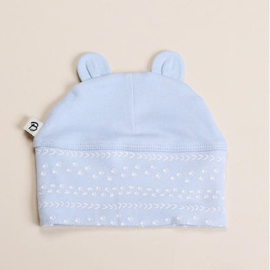 Bibalicious Beanie Footprints On The Land Blue*