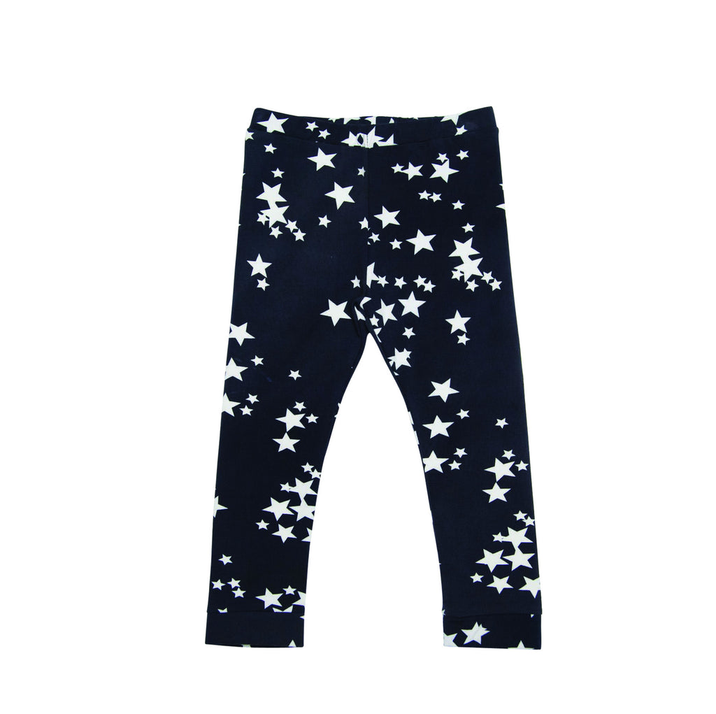 He And Her Leggings Galaxies Star #