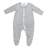 Gaia Long Onesie Centre Zip Ink Stripe *