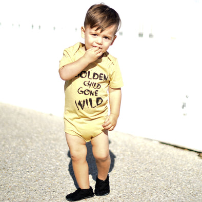 Little Lords Golden Child Bodysuit ^