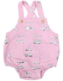 Korango Cherry Sunsuit Pink