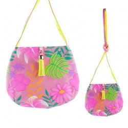 Pink Poppy Tropical Tango Shoulder Bag Pink