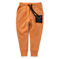 Littlehorn Cuff Trackpants Orange *