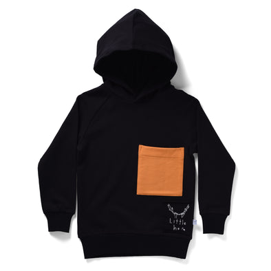 Littlehorn Mammoth Hood Black/Orange *