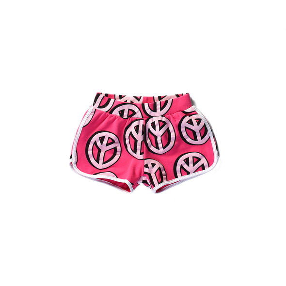Littlehorn Shorts Peace Bright Pink +