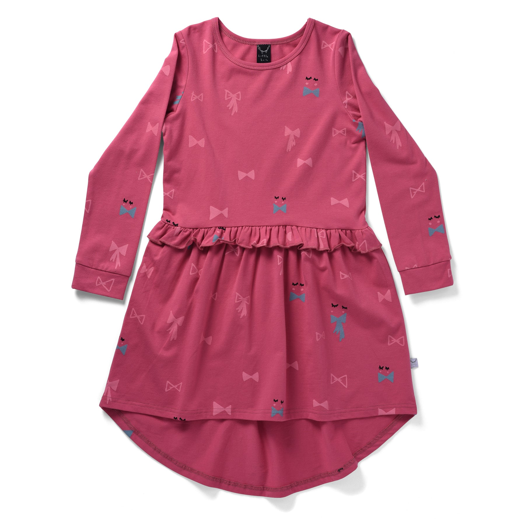 Littlehorn Ribbons Dress Punch#