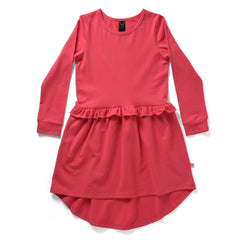 Littlehorn Twirly Dress Rouge#