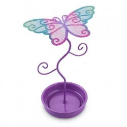 Pink Poppy Colourful Butterfly Earring Stand