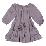Little Wings Frilled Dress Sequin Hearts *