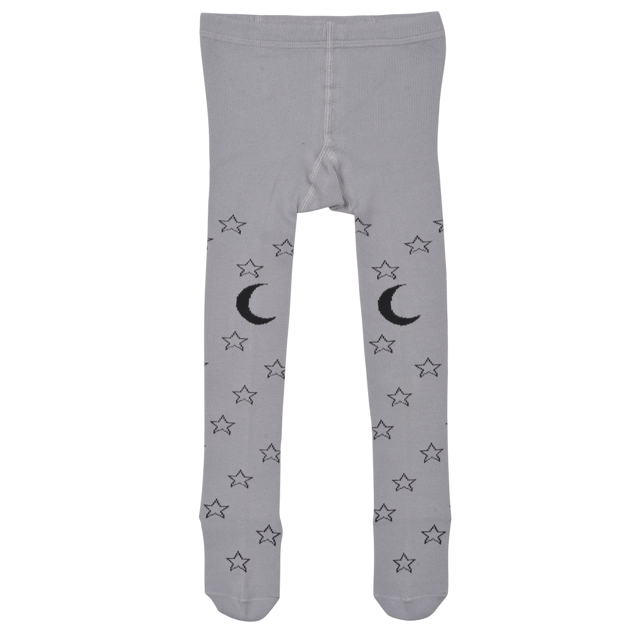 Little Wings Tights Starry Night Light Grey/Charcoal*