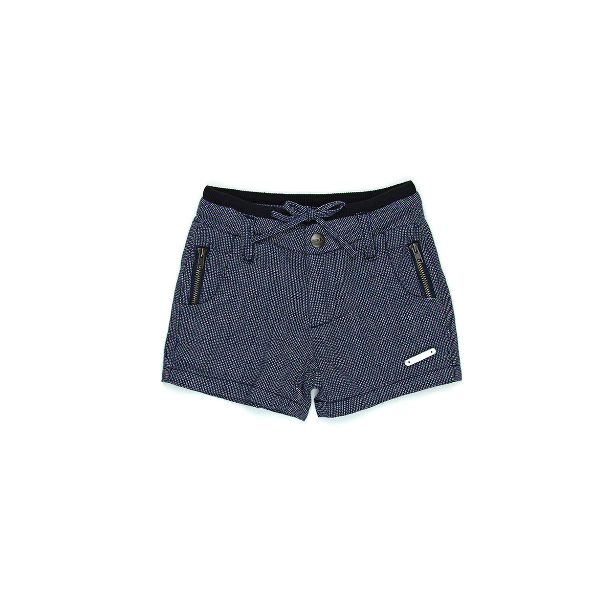 Sudo Mini Oscar Linen Shorts Oxford Blue