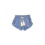 Sudo Mini Echo Relaxed Shorts Chambray
