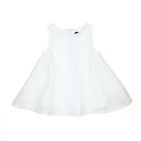 Sudo Mini Pearl Dress Shear White*