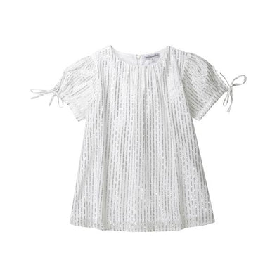 Minouche Minnie Dress Silver/White ^+
