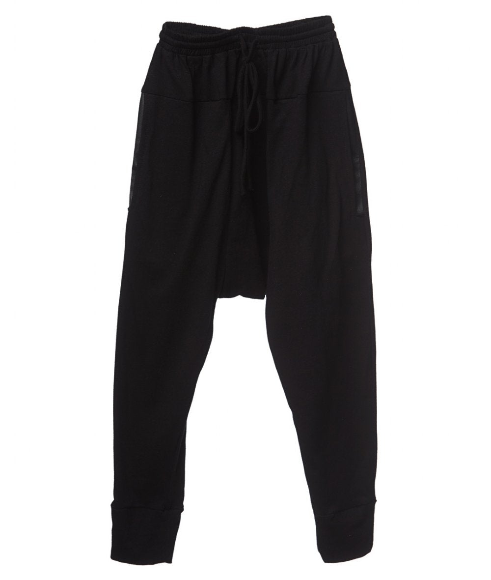 Mii Love Mu Track Suit Pants Hipster Boy Black*