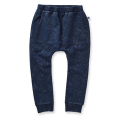 Minti Blasted Pouch Trackies Midnight Wash